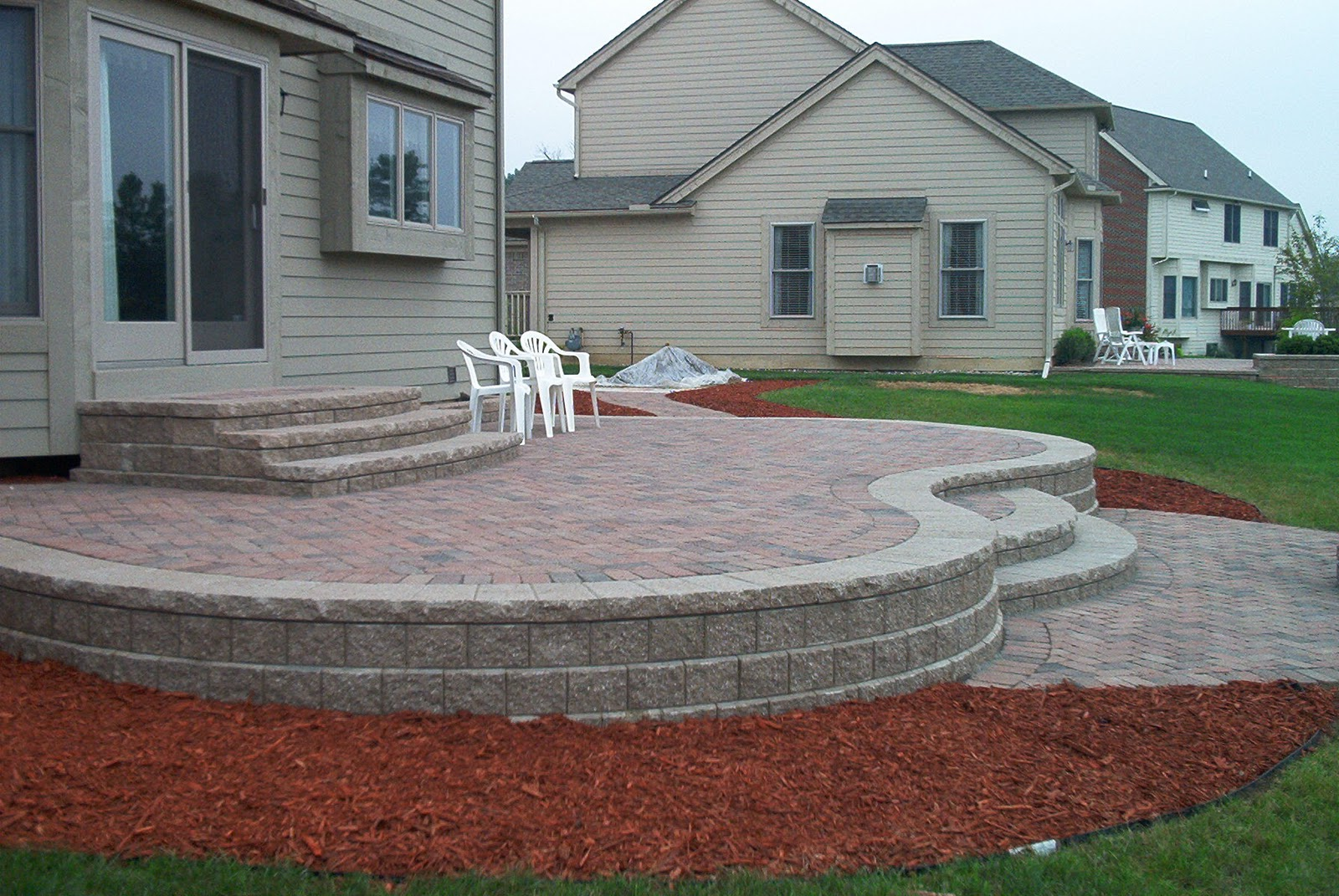 Argee Patio Pal Brick Laying Guides, Covers approx. 20 Brick paver patio designs photos